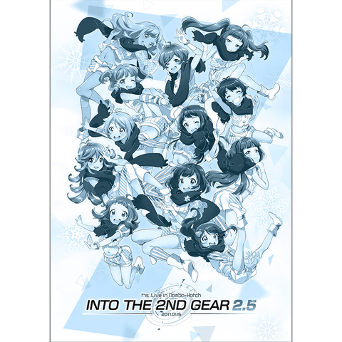 INTO THE 2ND GEAR 2.5 パンフレット