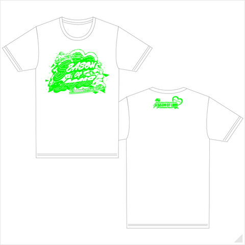 t7s 5th Anniversary Live -SEASON OF LOVE- in Makuhari Messe Tシャツ(WHITE)