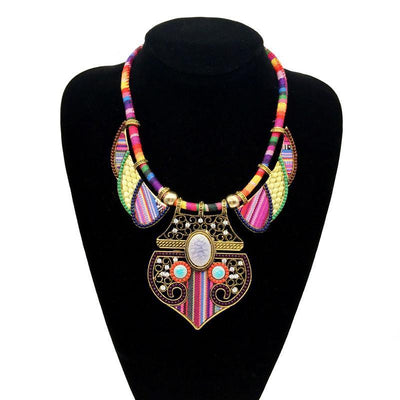 Tribal Rainbow Choker