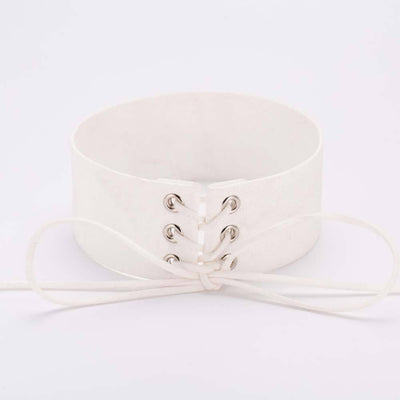 Lace Up Chokers