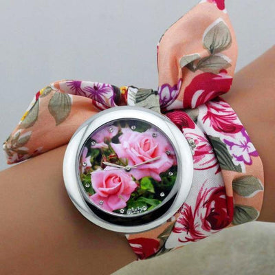 Floral Ribbon Watches