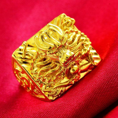 Gypsy King Dragon Ring