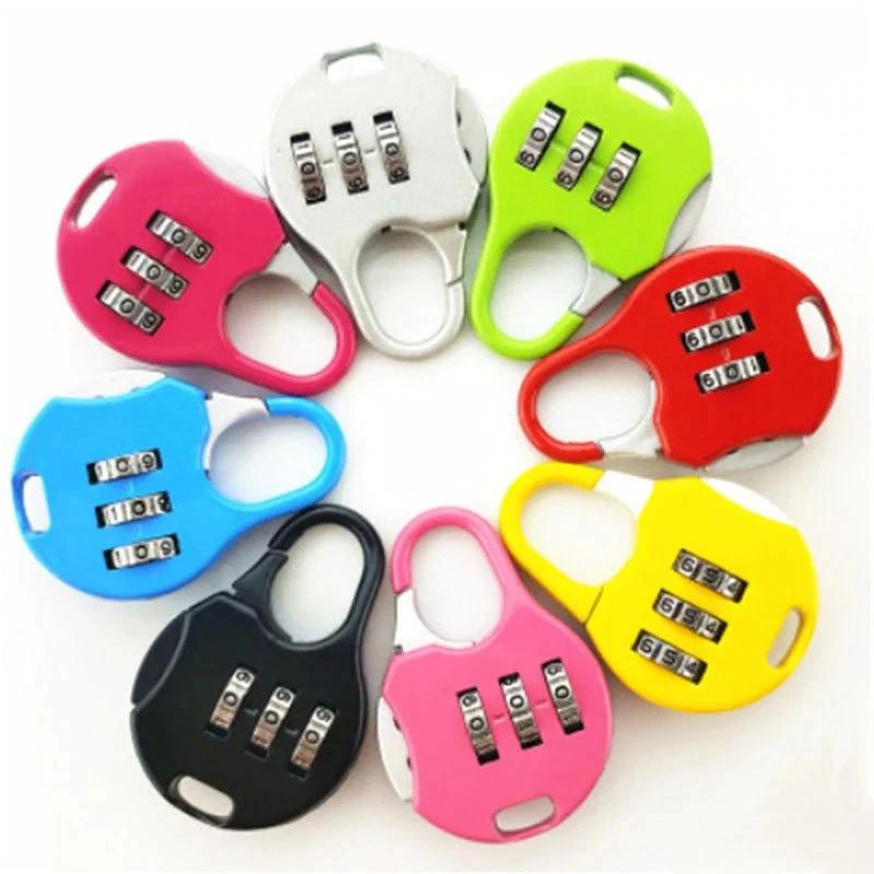 Resettable Code Combination Number Padlock