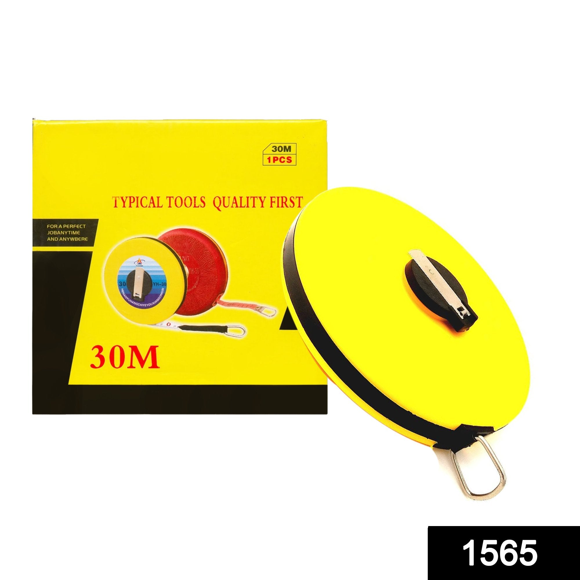 1565 Professional Measuring Tape/Ruler - 30 Meter - DeoDap