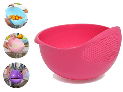 Plastic Heavy Rice Bowl Strainer/Colander