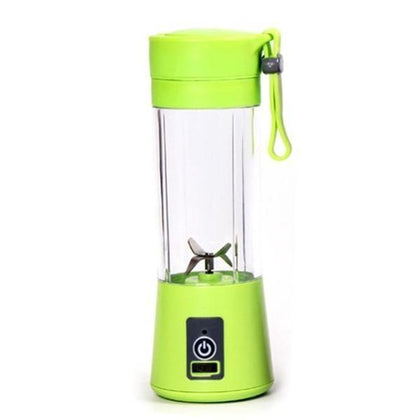 Portable USB Electric Juicer - 4 Blades (Protein Shaker)