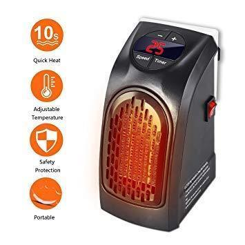 Electric Mini Handy Heater Plug-In Wall (400w)