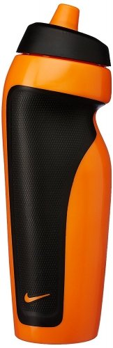 Nike Sport Water Bottle - Bright Mango and Black b