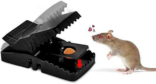 Reusable Plastic Portable Rat Traps (Rat Snap Trap) - 1 pc
