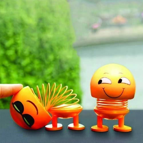 Emoticon Figure Smiling Face Spring Doll