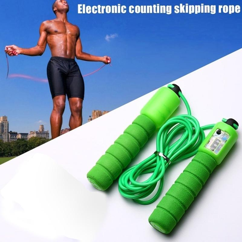 Electronic Counting Skipping Rope (9-feet)