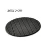 6 pcs Useful Round Shape Plain Silicone Cup Mat Coaster Drinking Tea Coffee Mug Wine Mat for Home