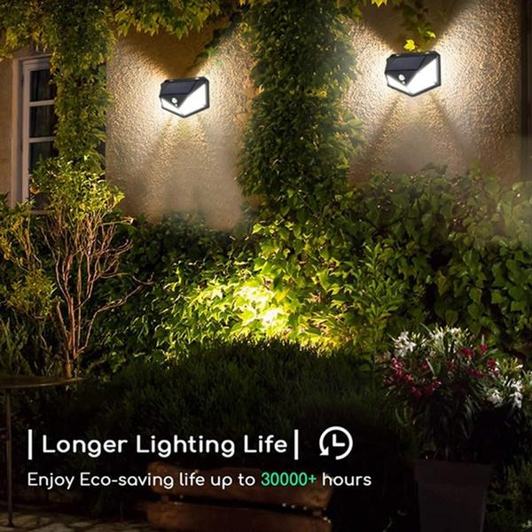 Solar Lights for Garden LED Security Lamp for Home, Outdoors Pathways