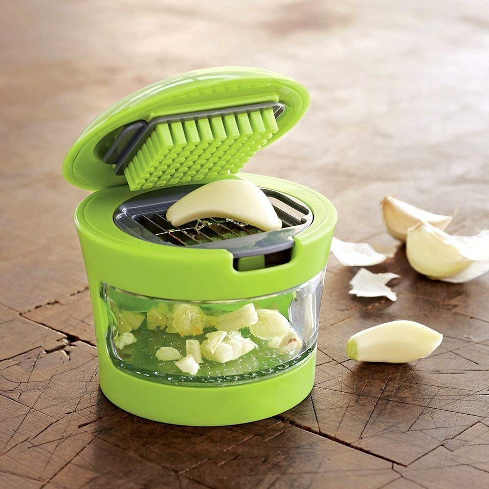 EZION Ginger Garlic Crusher for Kitchen