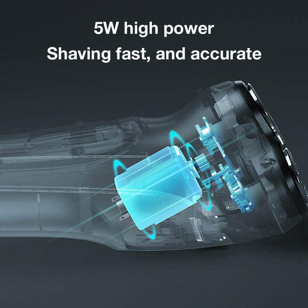 Enchen Blackstone 3D Electric Shaver Smart Control Blocking Protection Razor Washable Type-C Rechargeable Men