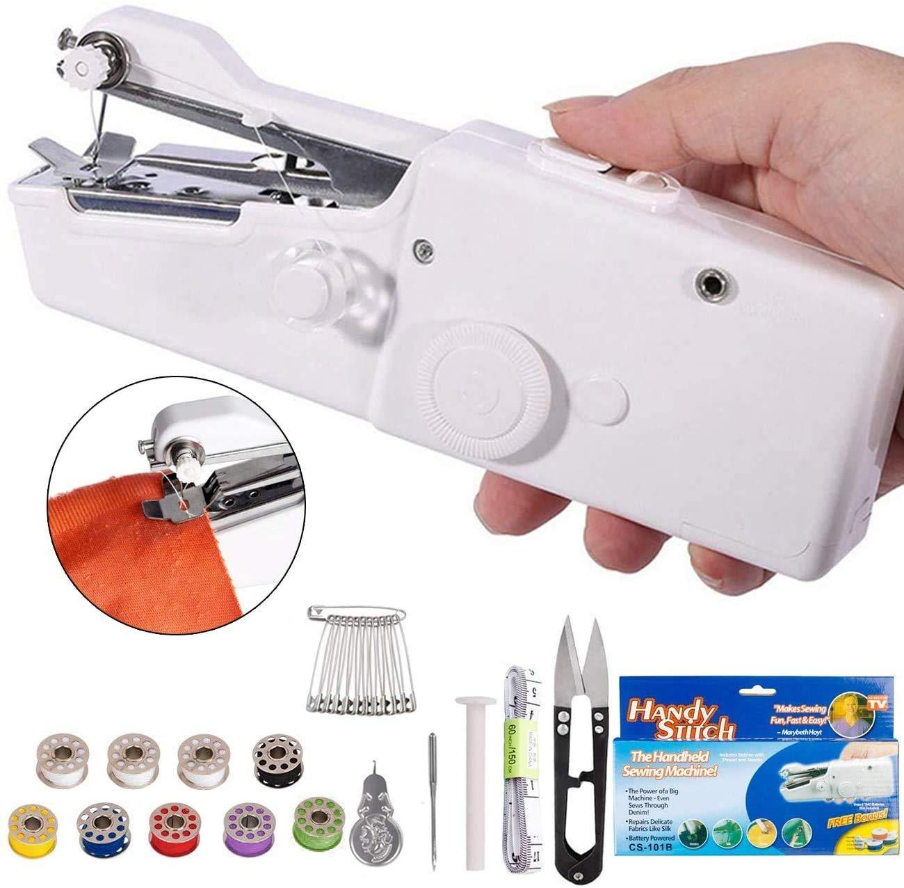 Handheld Portable Mini Electric Cordless Sewing Machine for Beginners