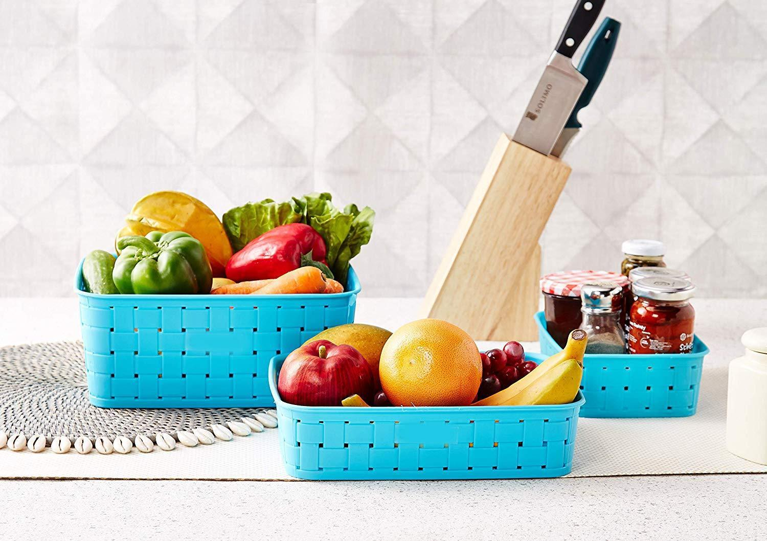 Smart Baskets for Storage(Set of 3)