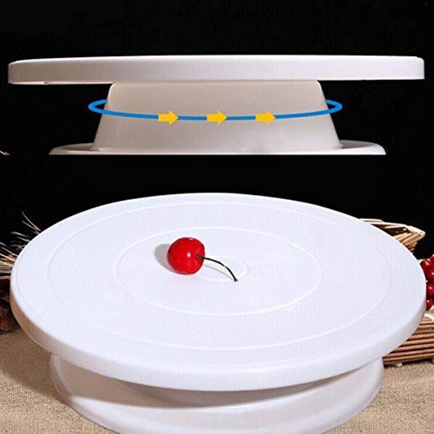 Rotating Cake Stand for Decoration and Baking