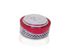 Multipurpose Royal Design Round Silver Storage/Gift Box