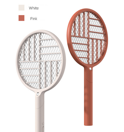 Bcase Handheld Mosquito-killing Foldable Indoor Mosquito Swatter Rechargeable Pest TypeI Nsect Killer With LED Light Lamp
