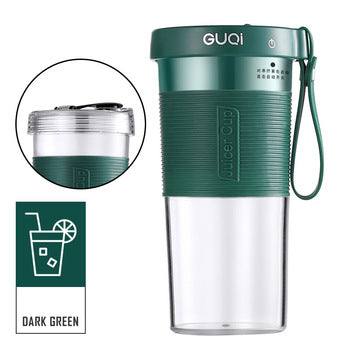 GUQI Mini Juicer Cup USB Charging Portable Electric Juice Sports Bottle Mixing cup Multi-function Juice blender