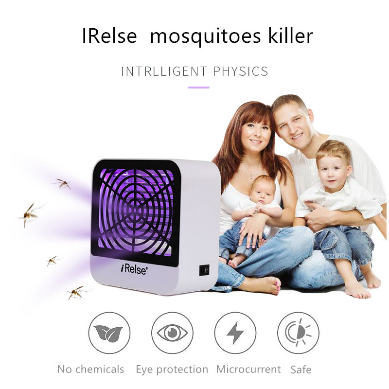 Irelse Electronic Mosquito Killer Indoor USB UV LED Mosquito Killer Waterproof Eco-friendly Mosquito Killer Lamp