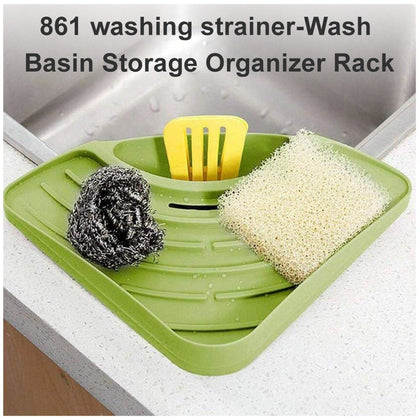 washing strainer-Wash Basin Storage Organizer Rack