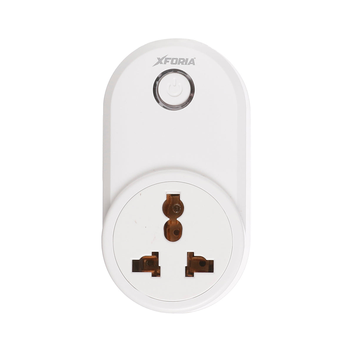 XFORIA 10A WiFi Smart Plug uitable for Appliances such as Televisions, Electric kettle, Table fans, Set top box, Air purifiers(Compatible with Alexa and Google Assistant)