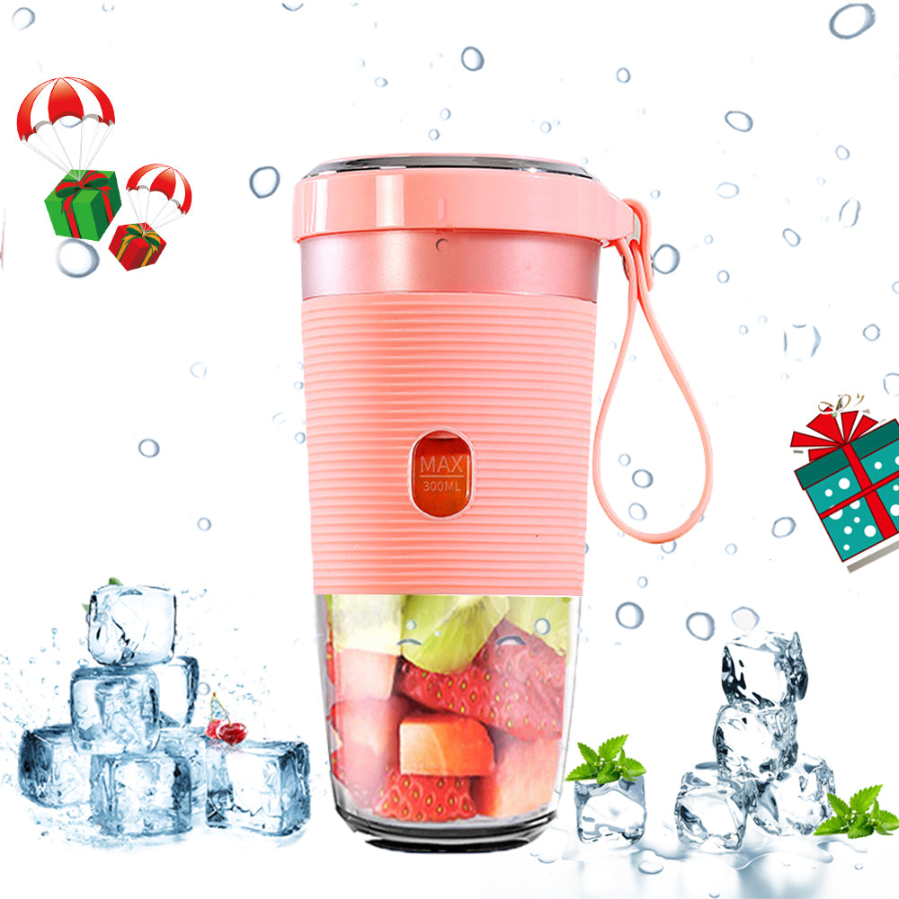 OEM Portable Blender Mini Juicer Smoothie Mixer with USB Charging Electric Shaker for Travel Outdoor Home Office
