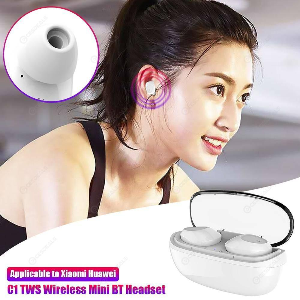 new 1:1 wireless earbuds Active Noise Cancellation Wireless 5.0 earphone 4-5 hour play time