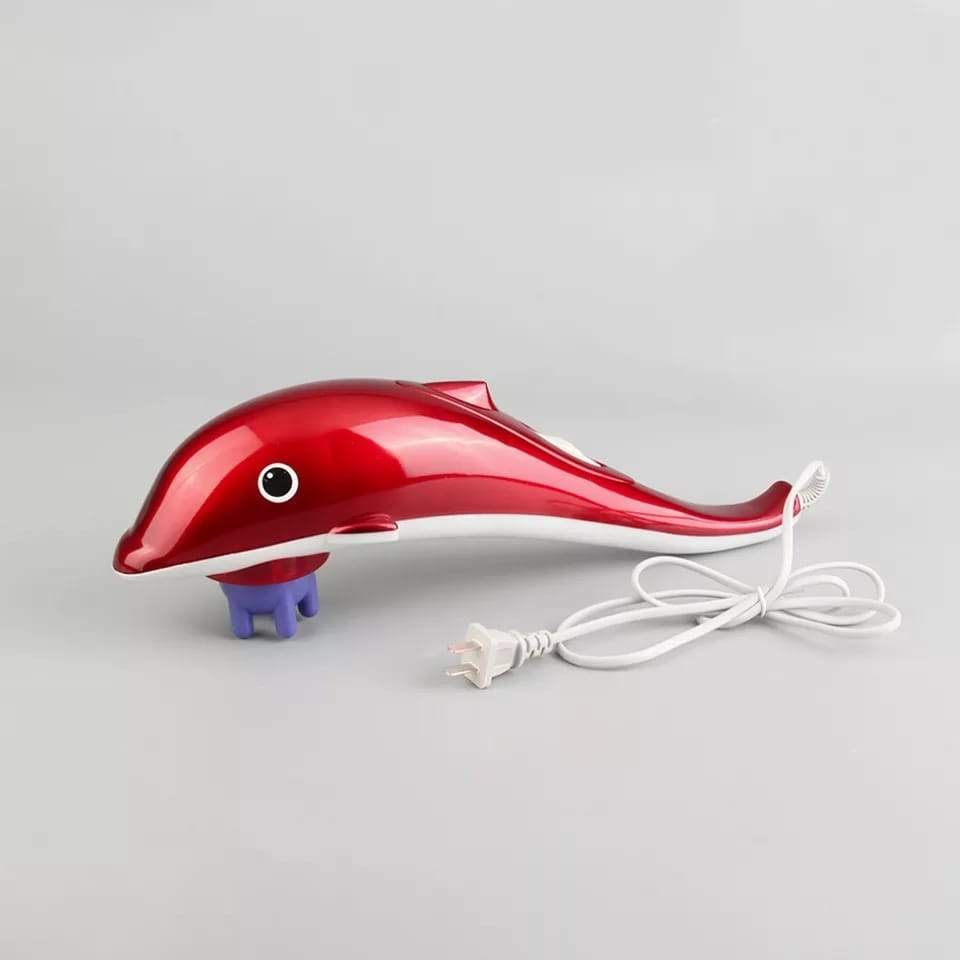 Dolphin Handheld Body Massager to Aid Pain and Stress