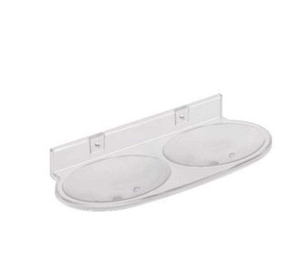 Double Soap Dish Bathroom Soap Holder