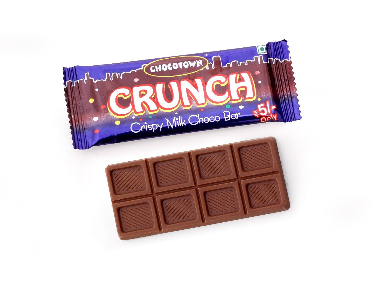 Chocotown Crunch Crispy Milk Chocobar, 15gm