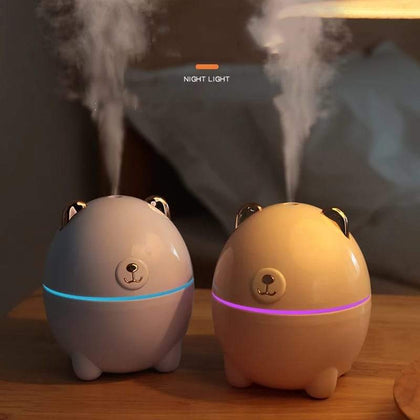Mini Polar Bear Shaped Cool Mist Portable Humidifier