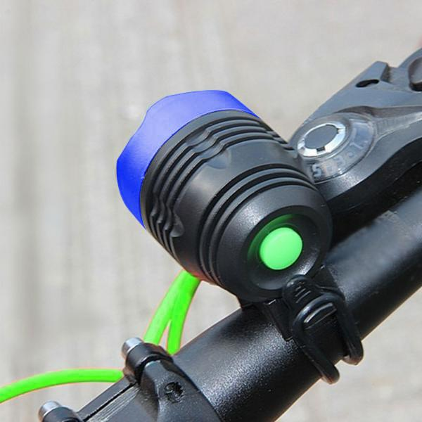 Bicycle Front Light  Zoomable LED Warning Lamp Torch Headlight Safety Bike Light