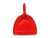 Heavy Duty Plastic Dustpan with Handle Durable Lightweight Multi Surface Dust Pan