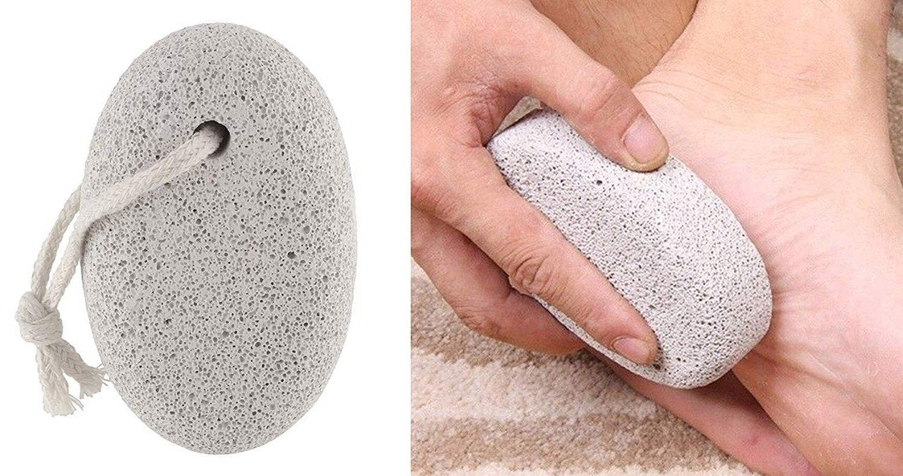 Oval Shape Stone Foot, Heel Scrubber For Unisex Foot Scrubber Stone