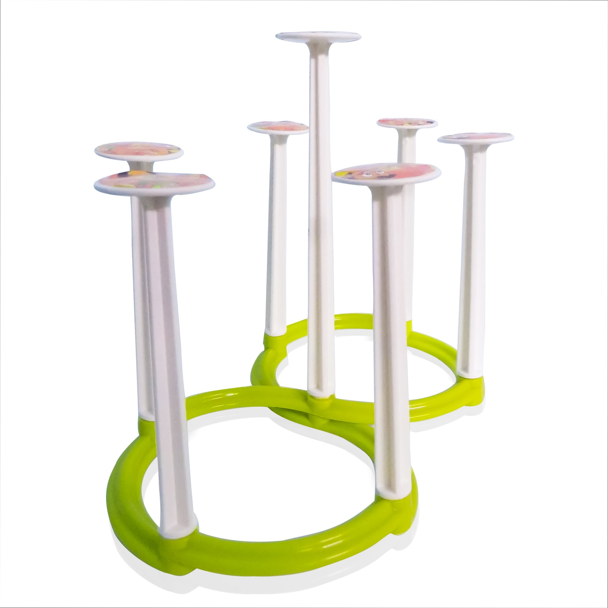 Movable Folding Design Glass Stand/Holder for 6 Glasses