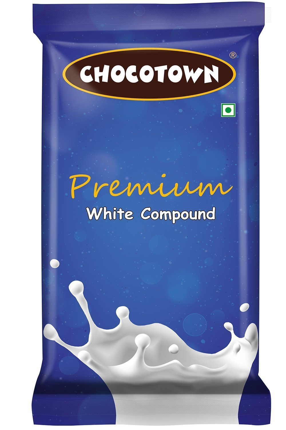 Chocotown Premium White Compound 400gm | Chocotown White Choco Slab |
