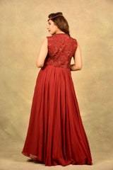 CANDY RED VALENTINO GOWN