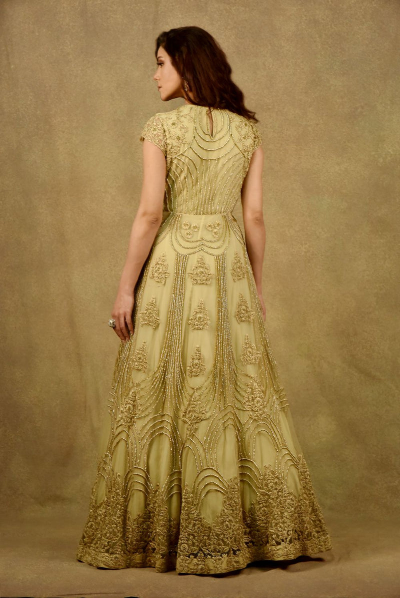ZESTY LEMON & GOLD ELIXIR GOWN