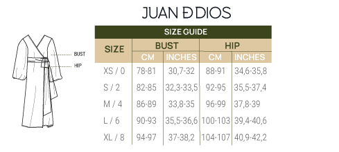 Size Guide Coverups
