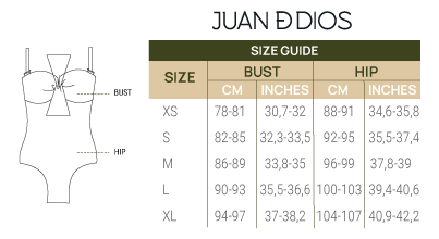 Size Guide Swimwear