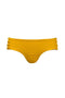 Albatross Bottom Black and White Mustard front reverse by Juan de Dios Swimwear
