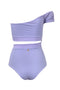 Careyes Onepiece Old Mauve Lilac back by Juan de Dios Swimwear