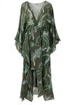 Costalegre Dress Green Helechos front by Juan de Dios Swimwear