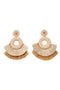Ornella Earrings Beige by Juan de Dios Swimwear