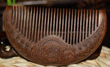 Pocket Sandalwood Comb (Narrow Tooth)