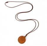 Wooden Necklace - Cabochon Jewelry - 5