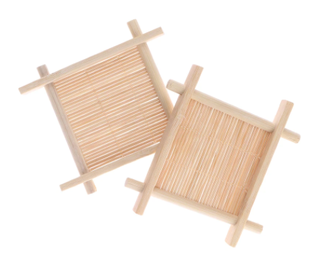 Natural Bamboo Soap Tray - Rack Plate